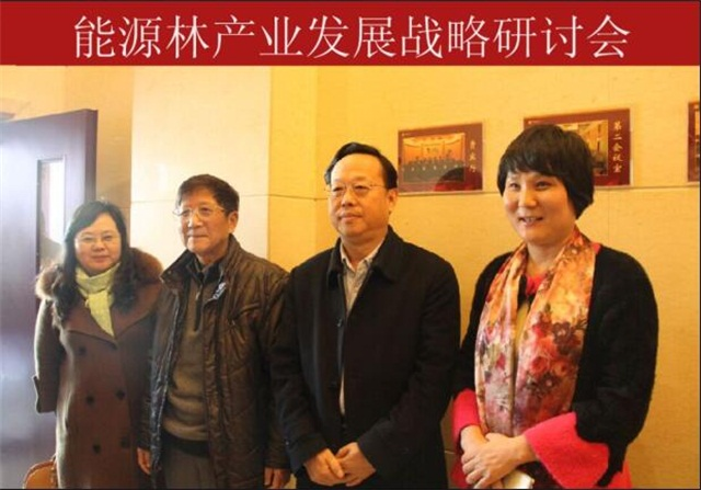 山东省林业厅刘均刚厅长参加能源林研讨会